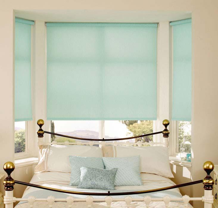 Màu sắc cũng là lý do khiến rèm cuốn được nhiều người ưa chuộng