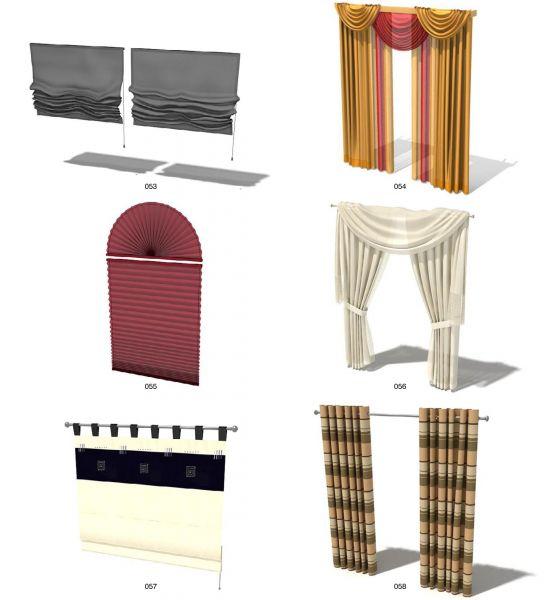 rèm kết hợp kiểu dáng của 2 loại: rèm thả văn phòng và rẻm vải xếp