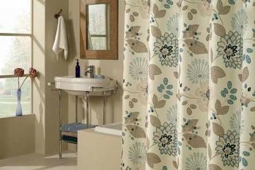 Bí quyết chọn rèm phòng tắm