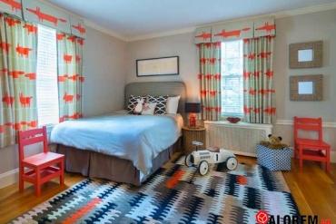 Chọn rèm cửa phù hợp cho phòng của bé