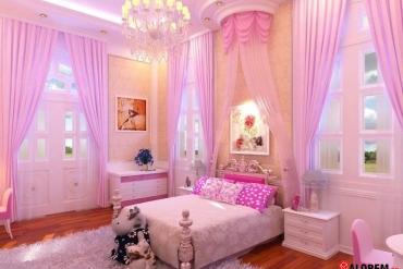 Gợi ý cách chọn rèm vải đẹp cho phòng của trẻ
