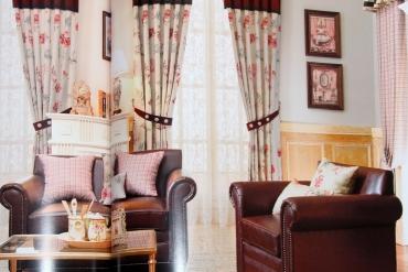Rèm cửa đẹp và màu sắc phong thủy mang thịnh vượng cho gia chủ