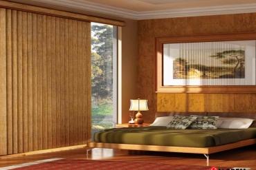 Rèm gỗ chưa bao giờ lỗi mốt.