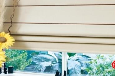 Rèm roman mang đến nét thanh lịch, ấm áp cho cửa sổ của bạn
