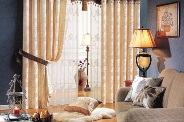 Sơn tường màu tối bạn nên chọn loại rèm cửa nào?