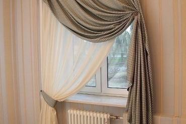Sự thật gây sốc về rèm vải chống cháy