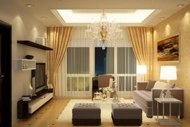 Tại sao nên chọn rèm vải làm rèm cho phòng khách?