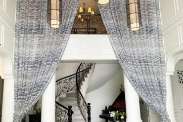 Tiêu chuẩn chống cháy rèm vải nội thất châu Âu phổ biến