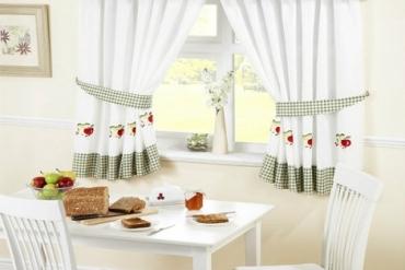 Tuyệt chiêu cách chọn rèm cửa cho phòng bếp